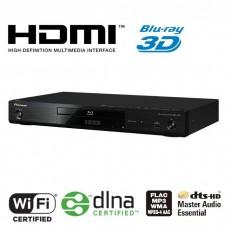 Pioneer BDP-160 Blu-Ray 3D grotuvas su tinklinio grotuvo funkcijomis WLAN USB iPhone iPad Android DivX