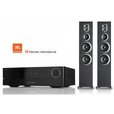 Stereo komplektas garso stiprintuvas Harman Kardon HK3770 ir kolonėlės JBL ES80 2x400W
