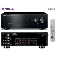 Yamaha A-S300 stereo stiprintuvas 120W dviejų zonų iPhone Doc Station jungtis