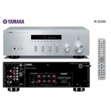 Yamaha R-S300 stereo stiprintuvas resyveris 100W dviejų zonų, radio imtuvas AM/FM iPhone Doc Station jungtis