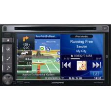 Auto magnetola ALPINE INE-W920R in-Dash 2jų dinų media resyveris navigacija One Look Navi