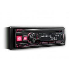 Auto magnetola CDE-183BT 4x50W RADIJO IMTUVAS SU CD/USB IR PAŽANGIU BLUETOOTH®