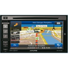 Auto magnetola ALPINE INE-W970BT in-Dash 2jų dinų media resyveris navigacija One Look Navi Bluetooth®