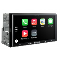 Auto magnetola ALPINE ILX-700 in-Dash 2jų dinų media resyveris su Apple CarPlay