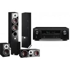 Namų kino komplektas Denon AVR-X1200W 7.2 HD  su su penkiom kolonėlėm Dali  ZENSOR 5/1/VOCAL