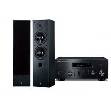 Stereo komplektas stiprintuvas Yamaha R-N500 su  kolonėlėm  Yamaha NS-50F