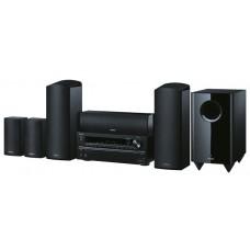 Namų kino komplektas stiprintuvas su kolonelėm ir žemo dažnio garsiakalbiu ONKYO HT-S3705 5.1 resyveris  5x100W USB nemokamas pristatymas